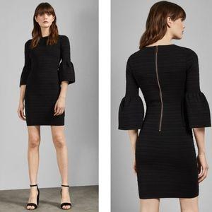 NEW Ted Baker | Yansiaa Bell Sleeve Bodycon Dress